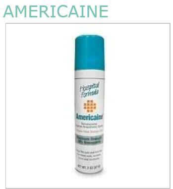 Americaine 20% Aerosol 2 oz