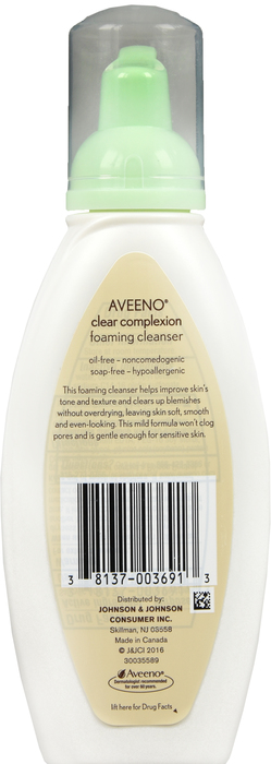 '.Aveeno Clear Complxn Cleansing.'