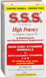 S.S.S. Multivit High Potency Tablet 40Ct By S.S.S. Company 2 PACK