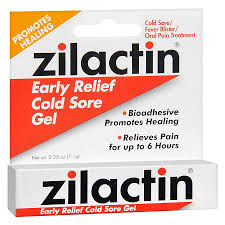 Zilactin Early Relief Cold Sore Gel - 0.25 oz by BLAIREX LABS