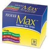 Nova Max Test Strip 50Ct