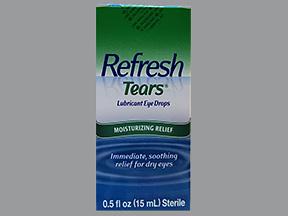 Refresh Tears Lubricant Eye Drops - 0.5 oz Bottle