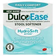Dulcolax Stool Softener Liquigel 50Ct