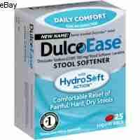 Dulcolax Stool Softener Liquid Gels 100 mg - 25 Count