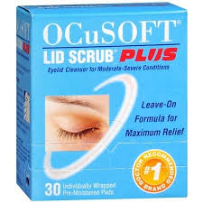 Ocusoft Lid Scrub Plus Formula Eyelid Cleansing Pads, Extra Strength - 30 count