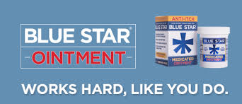Item No.:OTC051091/D Blue Star Ointment Anti-Itch 2 oz One Case Of 24 Category: OTC:Analgesic External:Blue Star UPC Package Code: 3-68429-20102-7 368429201027 UPC Case Code: 40-3-68429-20102-5 Packag