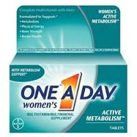 One-A-Day Women's Active Metabolism Completee Multivitamin Tablets - 50 Count