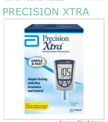 PRECISION XTRA METER by Abbott Diabetes