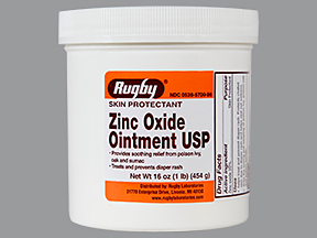 Zinc Oxide 20 % Ont 1Lb By Major Pharma/Rugby