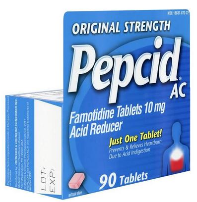 Pepcid Ac Tablet Original 90Ct By J&J Consumer