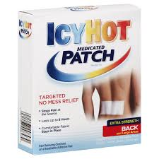 Icy Hot Back Patch 5Ct