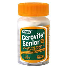 Cerovite Senior 60 Tabs By Rugby Generic Centrum Sr.