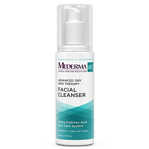 Mederma Ag Formaly Aqua Glycolic Facial Cleanser 6 oz CASE OF 12