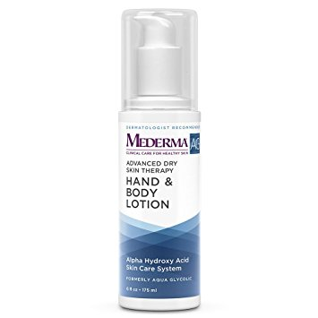 Mederma Ag Hand & Body Lotion (Formally Aqua Glycolic ) 6 oz case of 12