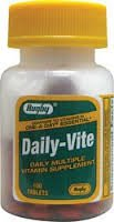 Daily-Vite Multivitamin Tablets 100 Each Rugby
