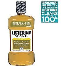 LISTERINE ORIGINAL Antiseptic Mouthwash 1Ltr