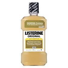 Listerine Antiseptic Mouthwash, Original - 16.9 fl oz bottle