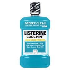 Listerine Antiseptic Mouthwash, Cool Mintnt 1.5Ltr