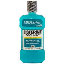 Listerine Antiseptic Mouthwash, Cool Mint - 16.9 fl oz bottle