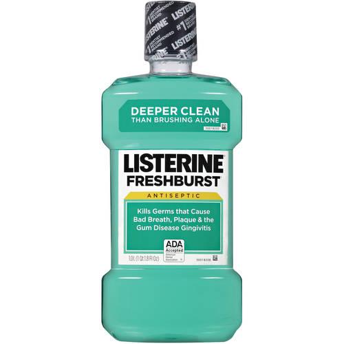Listerine Freshburst Mouthwash - 33.8 fl oz bottle