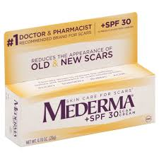 Mederma Scar Cream With SPF 30 Sunscreen - 0.70 oz Tub 20GM CASE OF 12