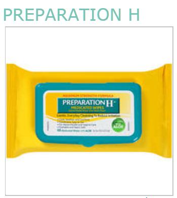 Preparation H 50 % Pad 48 By Pfizer Consumer Healthcare Item No.: 4778571 OTC778571 NDC No.: 0573-0556-20 00573-556-20 0573055620 00573055620 UPC No.: 305730556202 305730-556205 305730556205  MPN: 055