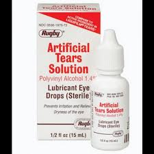 Artificial Tears Drops 15ml by Rugby Generic Liquifilm