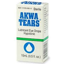 Image 2 of Artificial Tears Drops 15ml by Rugby Generic Liquifilm