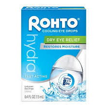 Rohto Hydra Dry Eye Reliever - 0.4 Fl oz Dropper