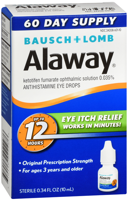 Alaway Eye Allergy Drop 10ml By Valeant Pharma