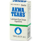 Artificial Tears Formerly Akwa Tears Lubricant Ointment - 3.5Gm. Item No.:4862466 NDC No.: 17478-0062-35 17478-062-35 1747806235 17478006235 UPC No.: 3-17478-06235-6 317478062356 Item