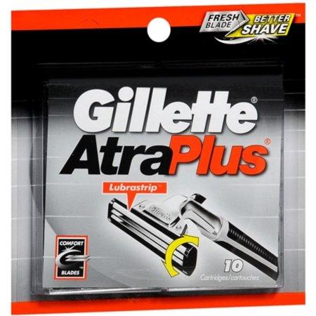 Gillette Atraplus Cartridges 10 Each