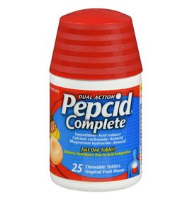 Pepcid Complete Chewable Fruit 25Ct