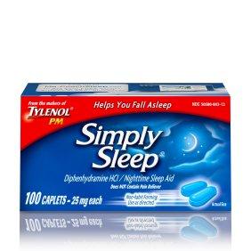 Simply Sleep Caplets 100