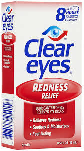 Clear Eyes Redness Relief Drops - 0.5 fl oz bottle