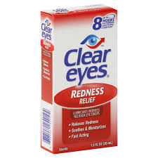 Clear Eyes Redness Relief Drops - 1 fl oz bottle