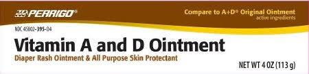 Free Shipping-Vit A-D Ointment 4 oz By Perrigo Co Case of 24