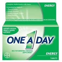 ONE-A-DAY Multivitamin/Multimineral, Energy, Tablets - 50 tablets One A Day