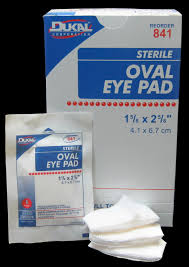 Eye Pad Oval 1 5/8 X 2 5/8 Sterile - 50 Per Box By Dukal