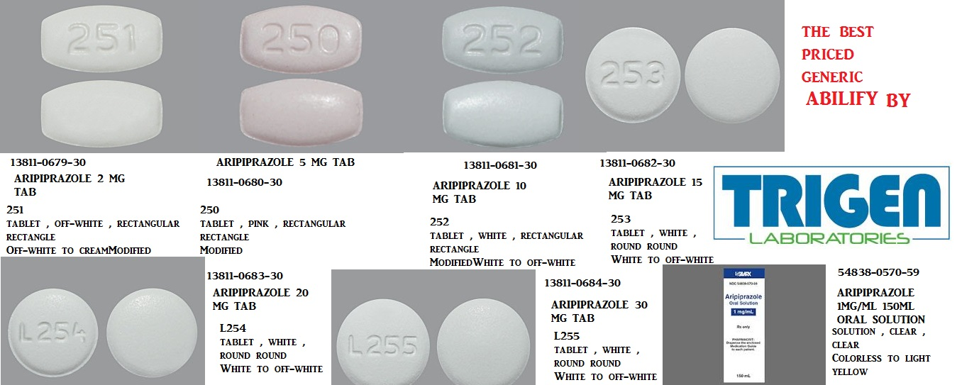 Aripiprazole 15mg Tab 30 by American Health Packaging