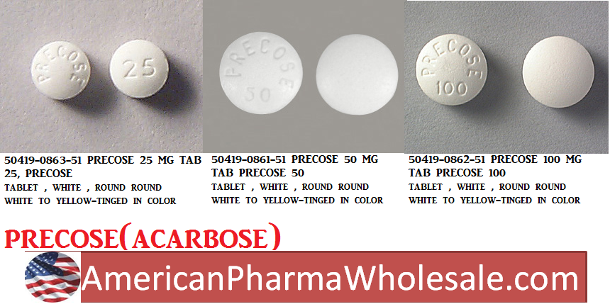 RX ITEM-Precose 100Mg Tab 100 By Bayer Pharma