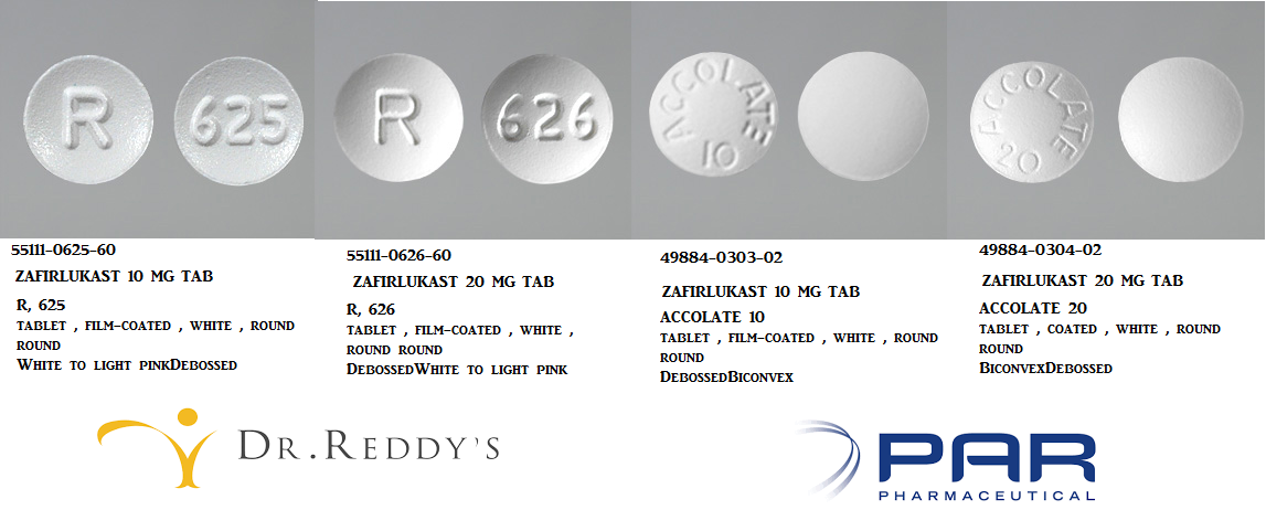 RX ITEM-Zafirlukast 10Mg Tab 60 By Dr. Reddys Lab