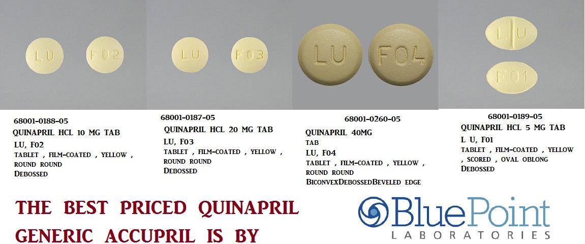 RX ITEM-Quinapril 10Mg Tab 90 By Aurobindo Pharma
