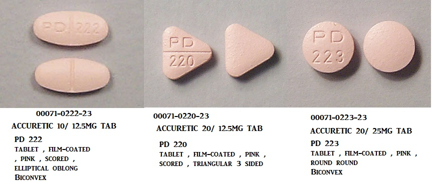 RX ITEM-Accuretic 10 12.5mg Tab 90 by Pfizer Pharma