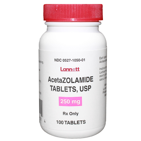 Acetazolamide 250mg Tab