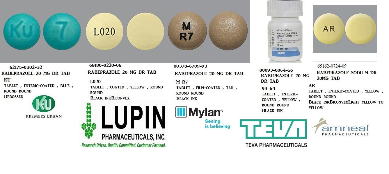 RX ITEM-Rabeprazole 20Mg Tab Generic Aciphex 100 By Major Pharma