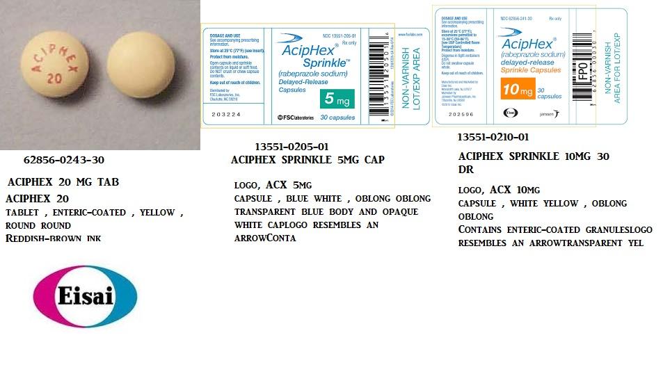 Rx Item-Aciphex 10mg Cap 30 By Fsc Labs