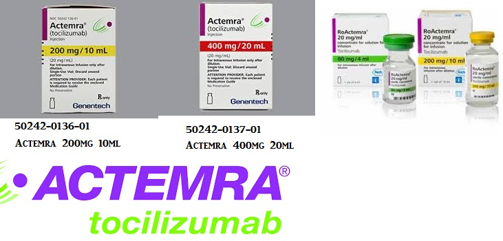 Rx Item-Actemra 162mg 0.9 Syringe 0.9ml By Genentech Refrigerated