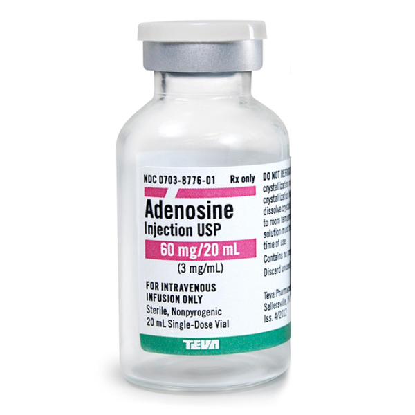 Rx Item-Adenosine 3Mg/ml Vial 20ml By Teva Pharma