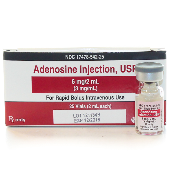 Rx Item-Adenosine 3Mg/ml Vial 25X2ml By Akorn Pharma